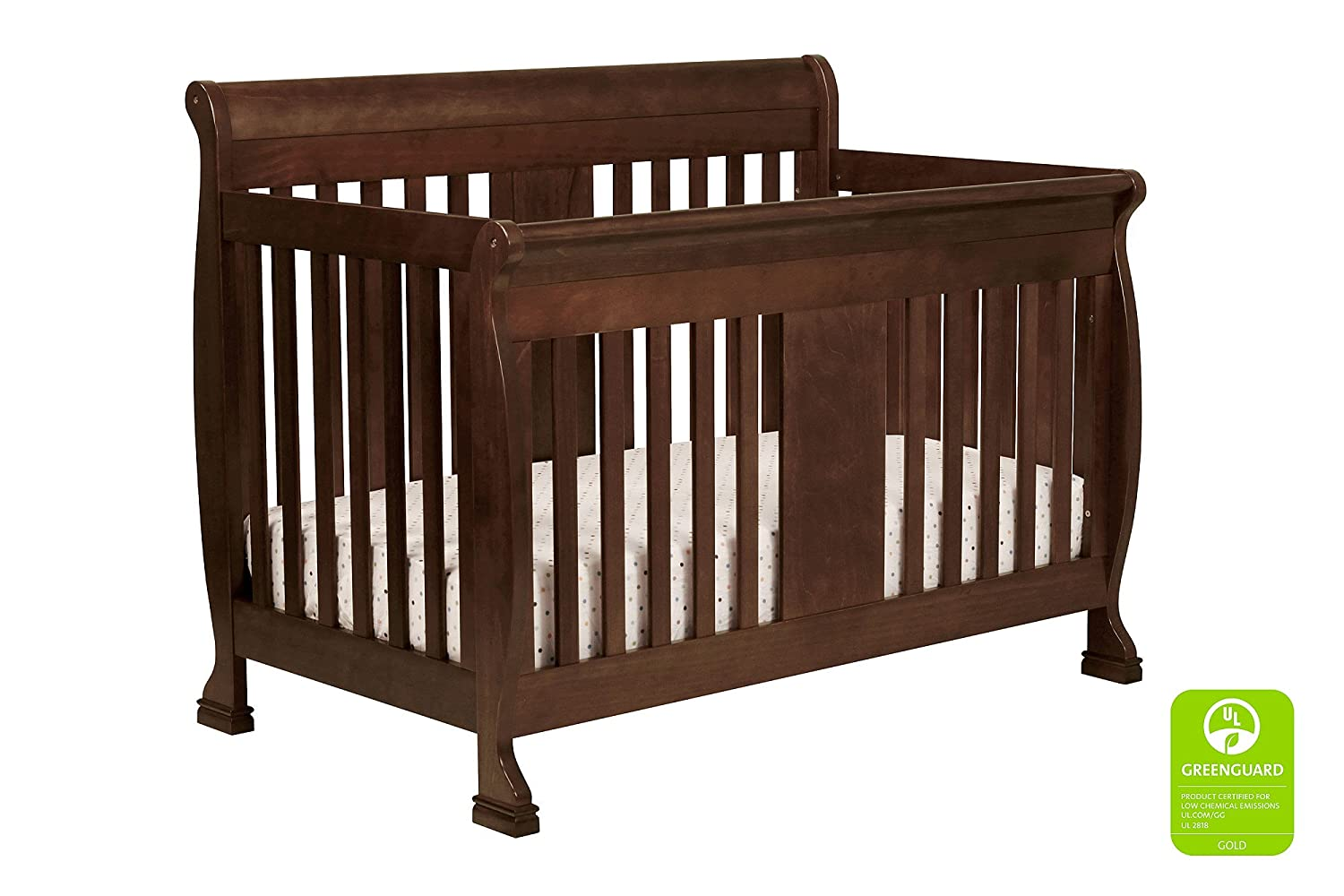 Davinci Porter 4-in-1 Crib Full Size Conversion Kit Bed Rails - Espresso POR-M5789-WH