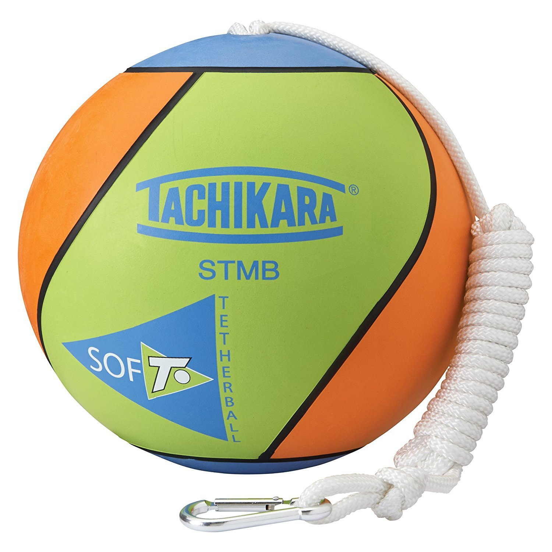 Tachikara. STMB Tetherball, Lime Green/Blue/Orange (Limited Edition)