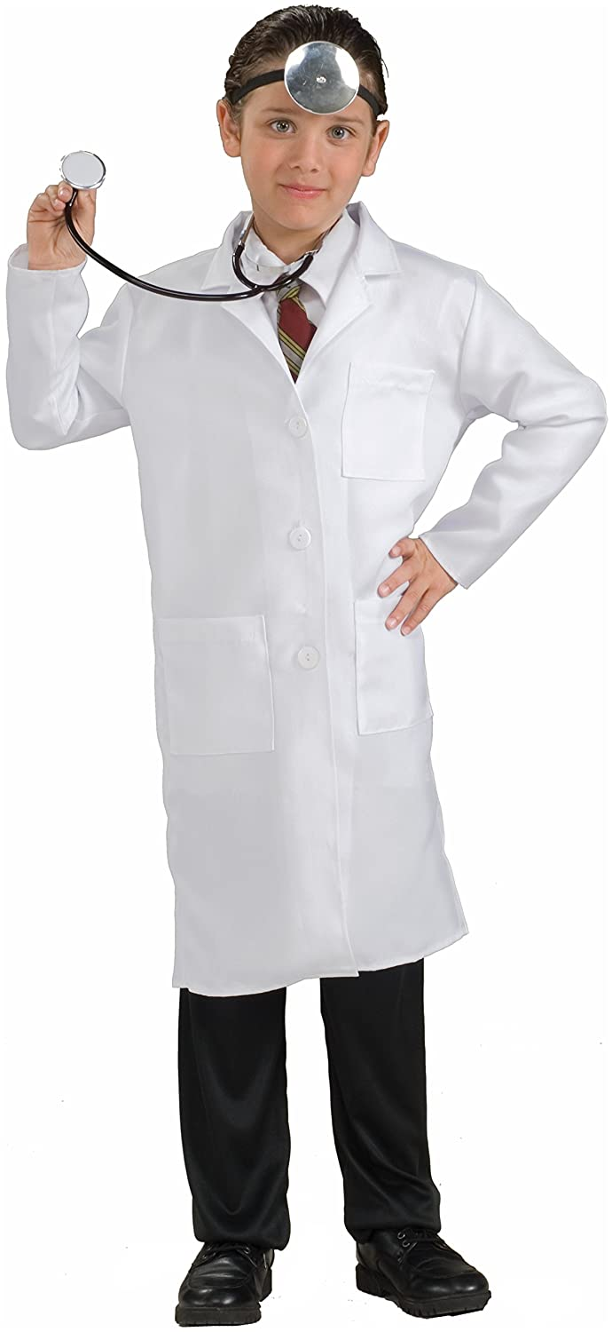 Amazon.com Forum Novelties Childu0027s Costume Doctor Lab Coat One Size/Medium Clothing  sc 1 st  Amazon.com & Amazon.com: Forum Novelties Childu0027s Costume Doctor Lab Coat One ...