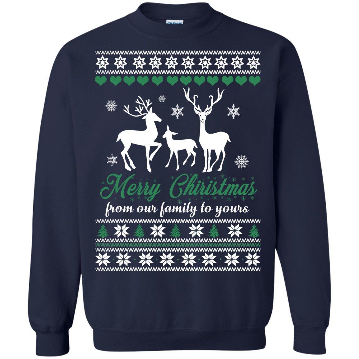 b69503112 Amazon.com: Ugly Sweatshirt Merry Christmas For Family Noel Holiday Funny Sweater  Shirt Gift: Clothing