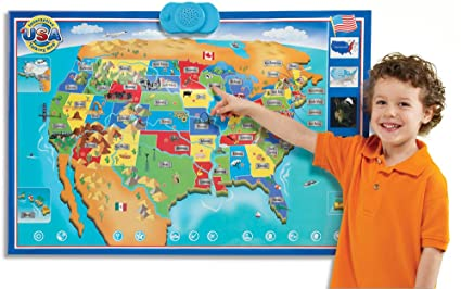 Amazon zanzoon interactive map usa english toys games zanzoon interactive map usa english gumiabroncs Image collections