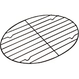 Fox Run 57213 Oval Roasting/Cooling Rack, Iron, Non-Stick, 11.25-Inch