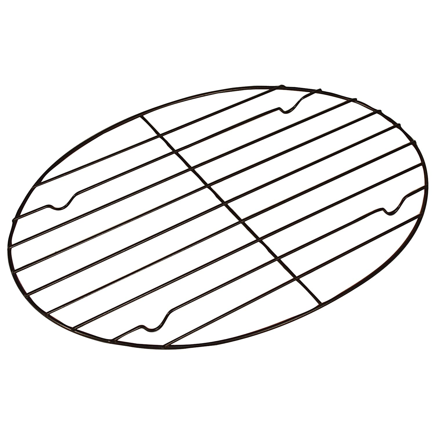 Fox Run 57213 Oval Roasting/Cooling Rack, Iron, Non-Stick, 11-Inch