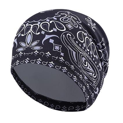 Amazon.com  Wingbind Men s Skull Cap Helmet Liner Cycling Caps ... 1048245ac03d