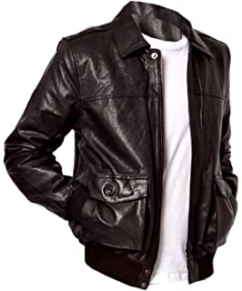 New Genuine Lambskin Leather Designer Jacket Motorcycle Biker Mens S M L XL T950