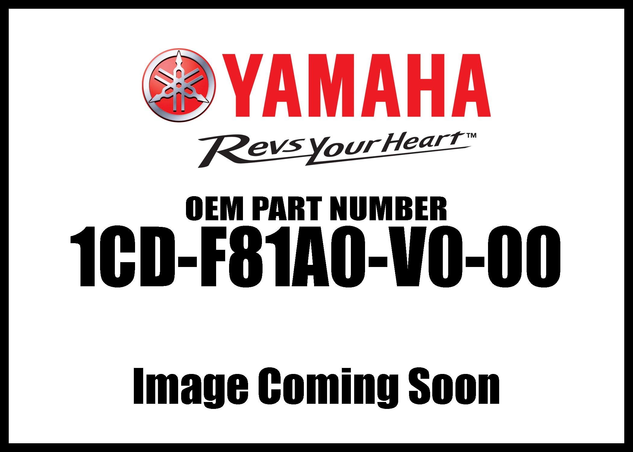Yamaha 1CD-F81A0-V0-00 Storage Cover for Yamaha Zuma 125 by YAMAHA