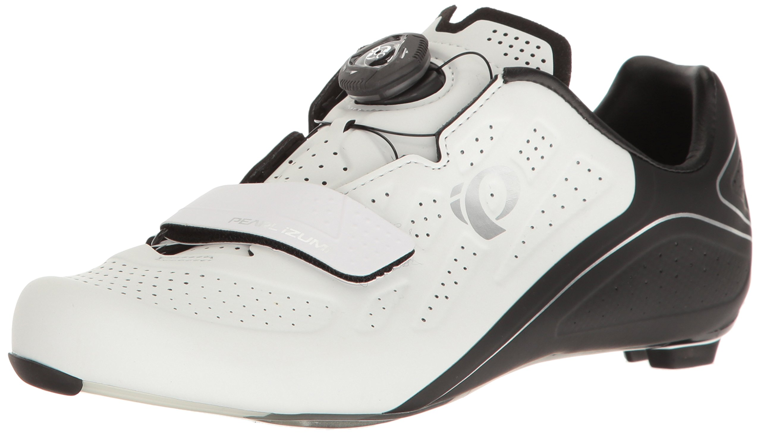 Pearl Izumi Women's W Elite Road V5 Cycling Shoe, White/Black, 40 EU/8.4 B US