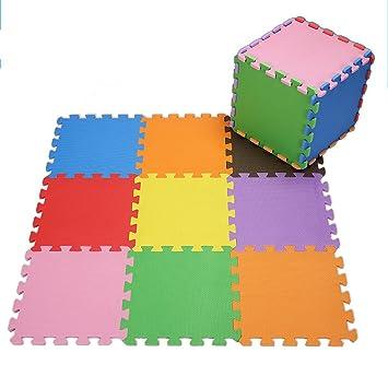 JPPXBD Rompecabezas de Color sólido Almohadilla de Espuma ...
