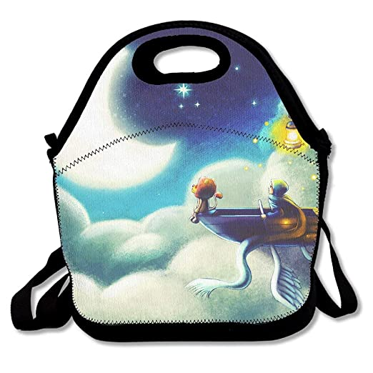 Flamagy Almuerzo Tote Moon Dream Lunch Boxes Bolsas para ...