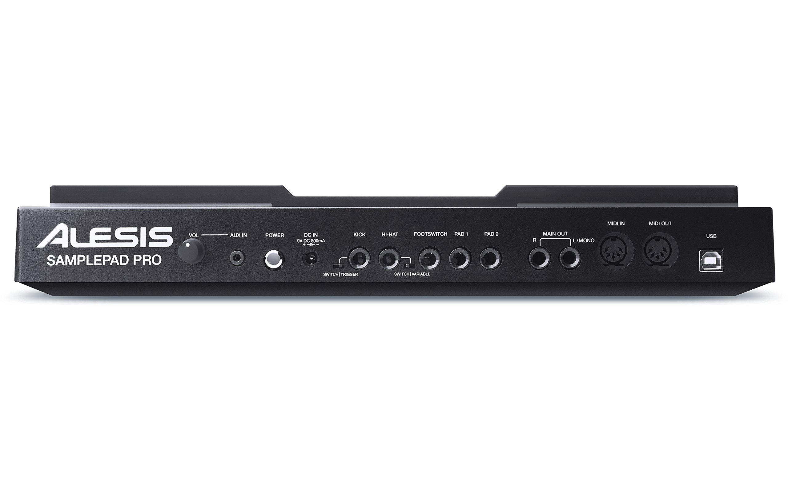 Alesis SamplePad Pro   8-Pad Percussion and Sample-Triggering Instrument with SD Card Slot & 5-Pin MIDI In/Out by Alesis
