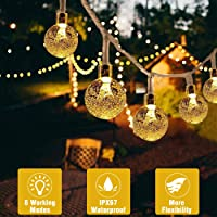 50 LED Cadena de Luces con Manda a