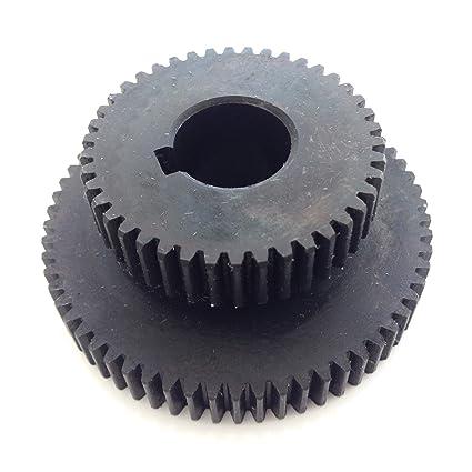 Repuesto Rueda dentada Engranaje de Acero C45 en lugar de plástico – Para Opti BF 20