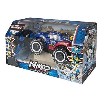Intertoys - Nikko VaporizR 2 1538615. Coche a Radio Control. Color Azul: Amazon.es: Juguetes y juegos