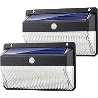 Yacikos Luz Solar Exterior 108 LED, [270°Super Brillante-2200mAh] Foco Solar Exterior con Sensor de Movimiento, Luces…