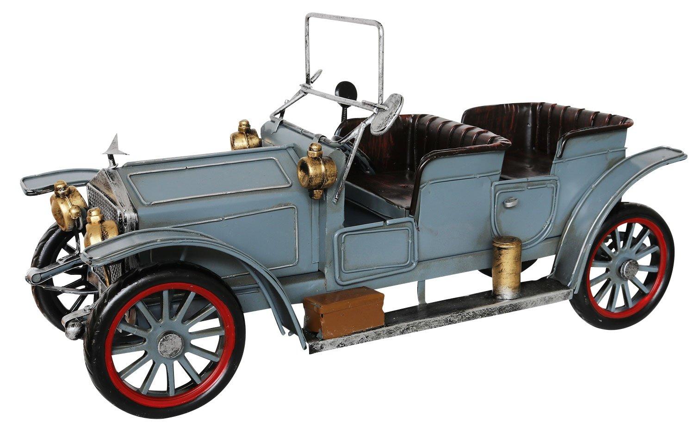 Modello auto d'epoca oldtimer en stile antico macchina metallo a Aubaho