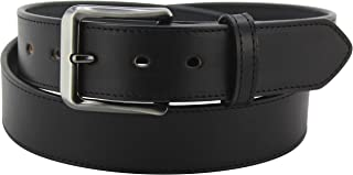 "product image for Men's Bridle Leather Belt – Single Stitched Belts - 1.50"" Wide - Made in USA"