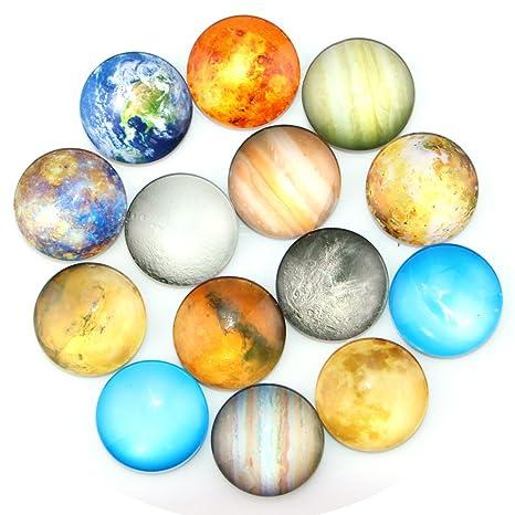 ktdorns planetario imanes de nevera -14 unidades imanes para ...