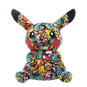 Amazon.com: Pocket Monster Pikachu - Almohada de peluche con ...