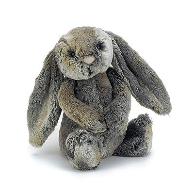 Jellycat Bashful Woodland Bunny Stuffed Animal, Medium, 12 inches: Toys & Games