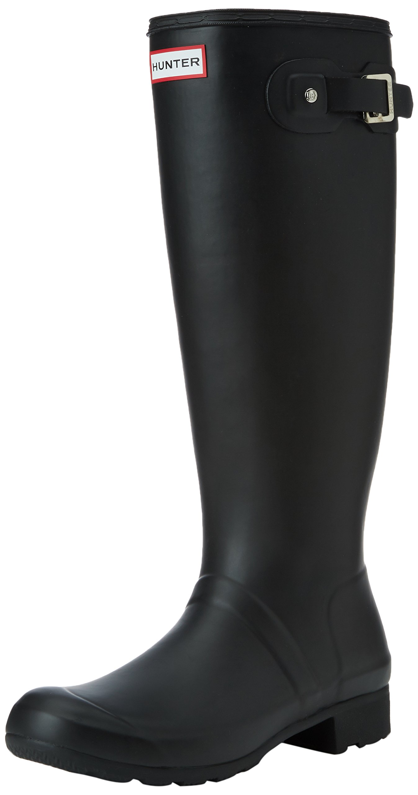Womens Hunter Original Tour Rain Winter Snow Festival Wellington Boots - Black - 5