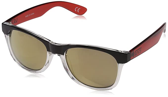 Vans SPICOLI 4 SHADES Gafas de sol, Multicolor (Clear-Black-Chili Pepper), 1