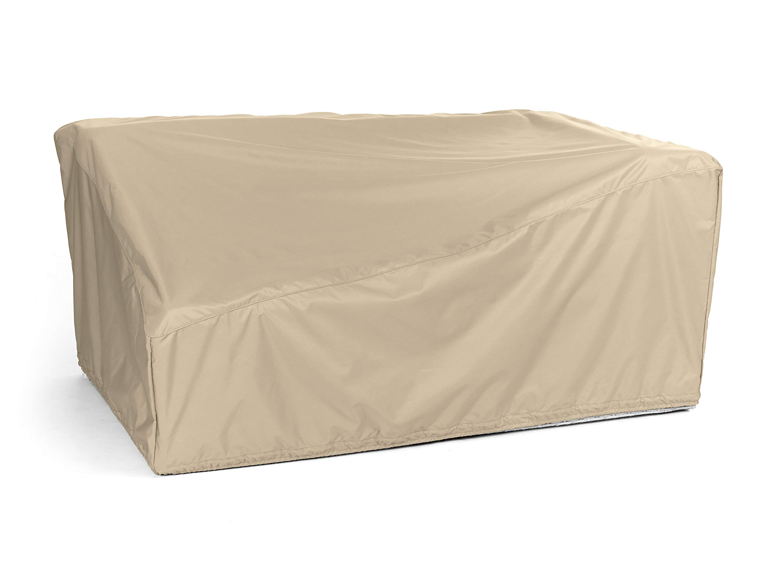 CoverMates – Right Arm Sectional Loveseat Cover – 58W x 34D x 30H – Elite Collection – 3 YR Warranty – Year Around Protection - Khaki