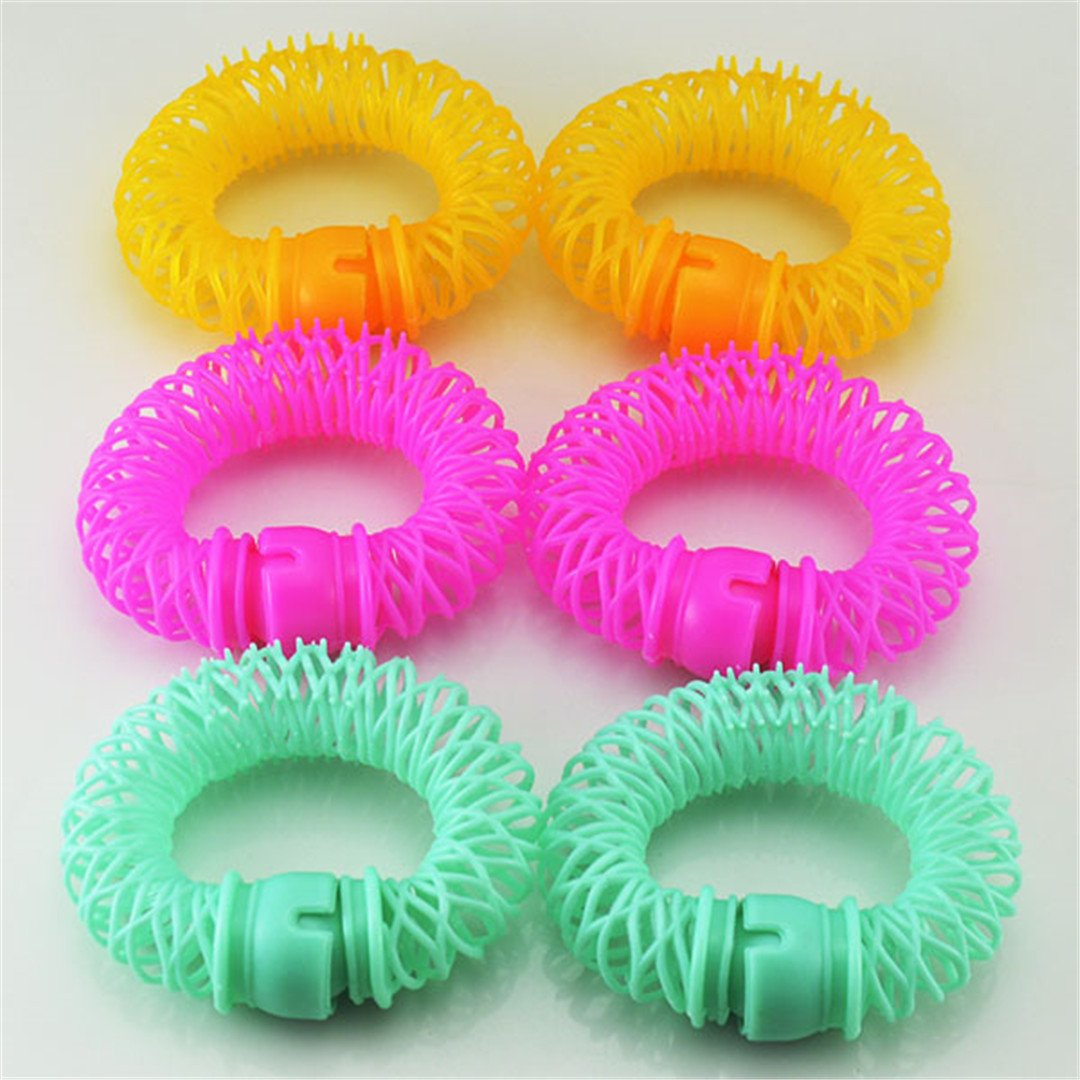 6/8 Pieces/Lot Rollers Hair Styling Curler Spiral Curls DIY Tools Women Beauty Hair Care 6 pcs
