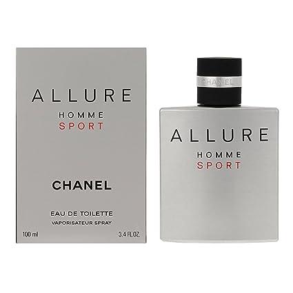90fd8f47661 Chanel Allure Homme Sport Eau De Toilette Spray 100 ml  Amazon.co.uk  Beauty