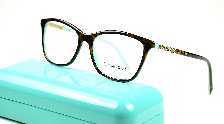 f823cb1e5f7d Amazon.com  Tiffany   Co TF2116-B Eyeglasses color 8134 Havana-Blue size 53  New  Clothing