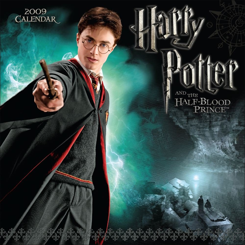 Harry Potter And The Half Blood Prince 2009 Wall Calendar Andrews Mcmeel Publishing Llc 9780740774164 Books Amazon Ca