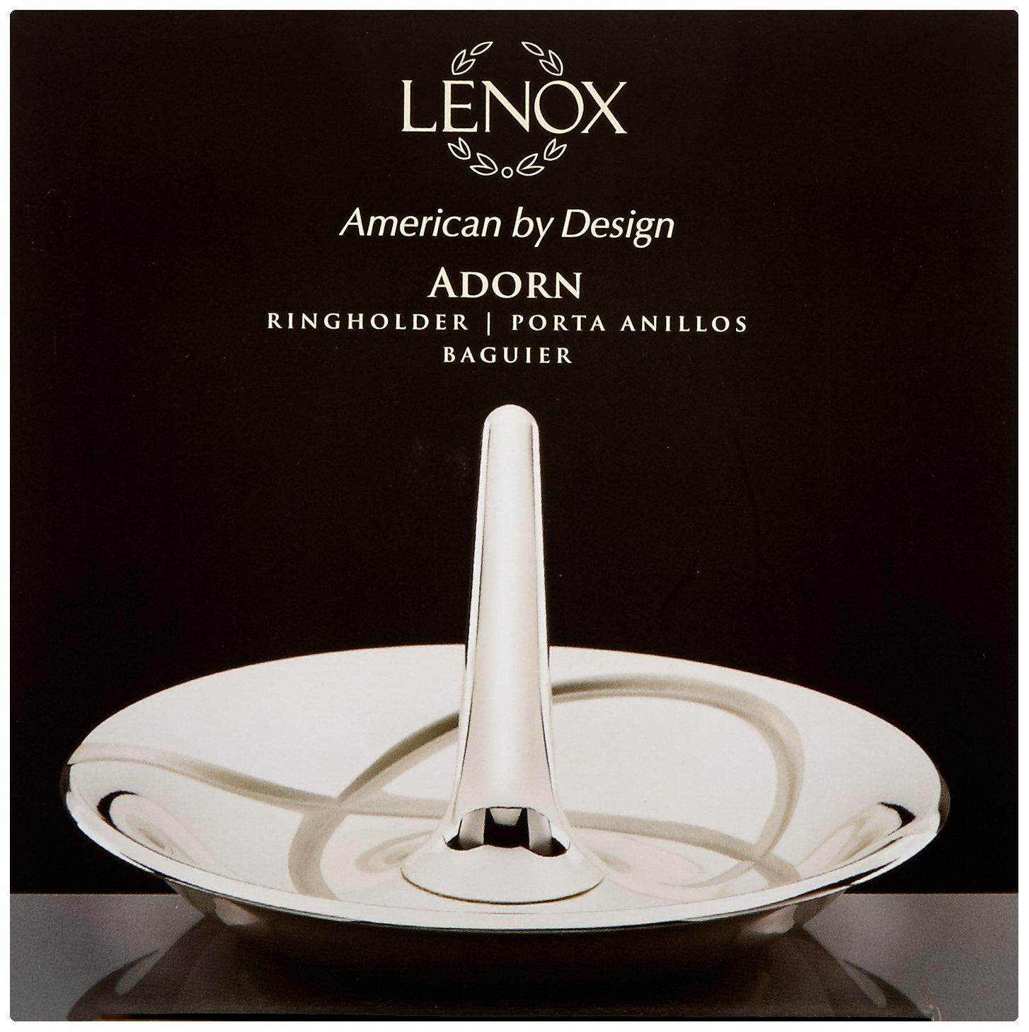Set of 2 B00C9Q47WU Clear Lenox Adorn Toasting Flute