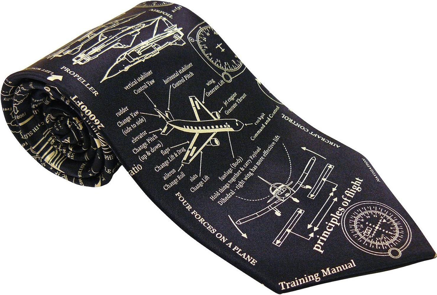 Corbata de seda RAF de aviones de papel solo propósito: Amazon.es ...