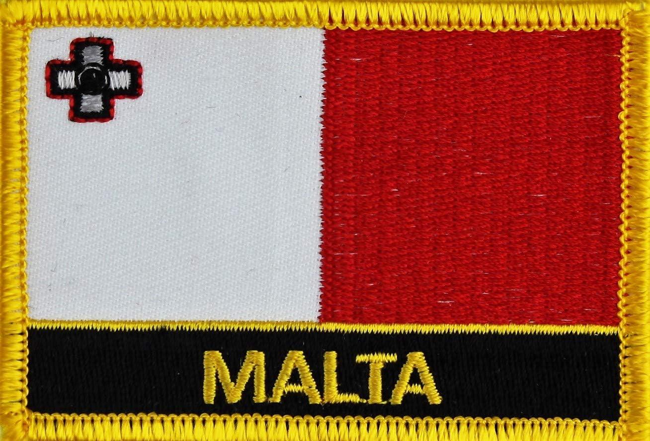 Malta Yantec Flaggenpatch mit L/ändername