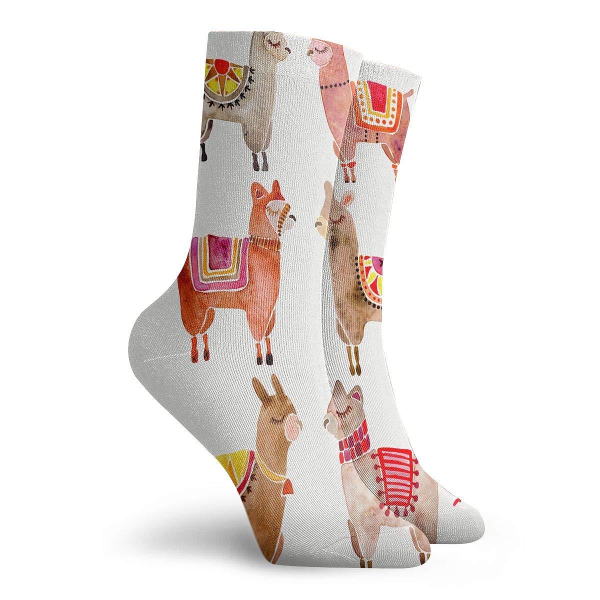 YIEOFH Draw The Milky Way Novelty Boys Girls Fashion Cute Funny Casual Art Crew Socks