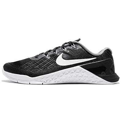 026a0aecb Nike Womens Metcon 3 Training Shoes Black/White 849807-001 Size 6