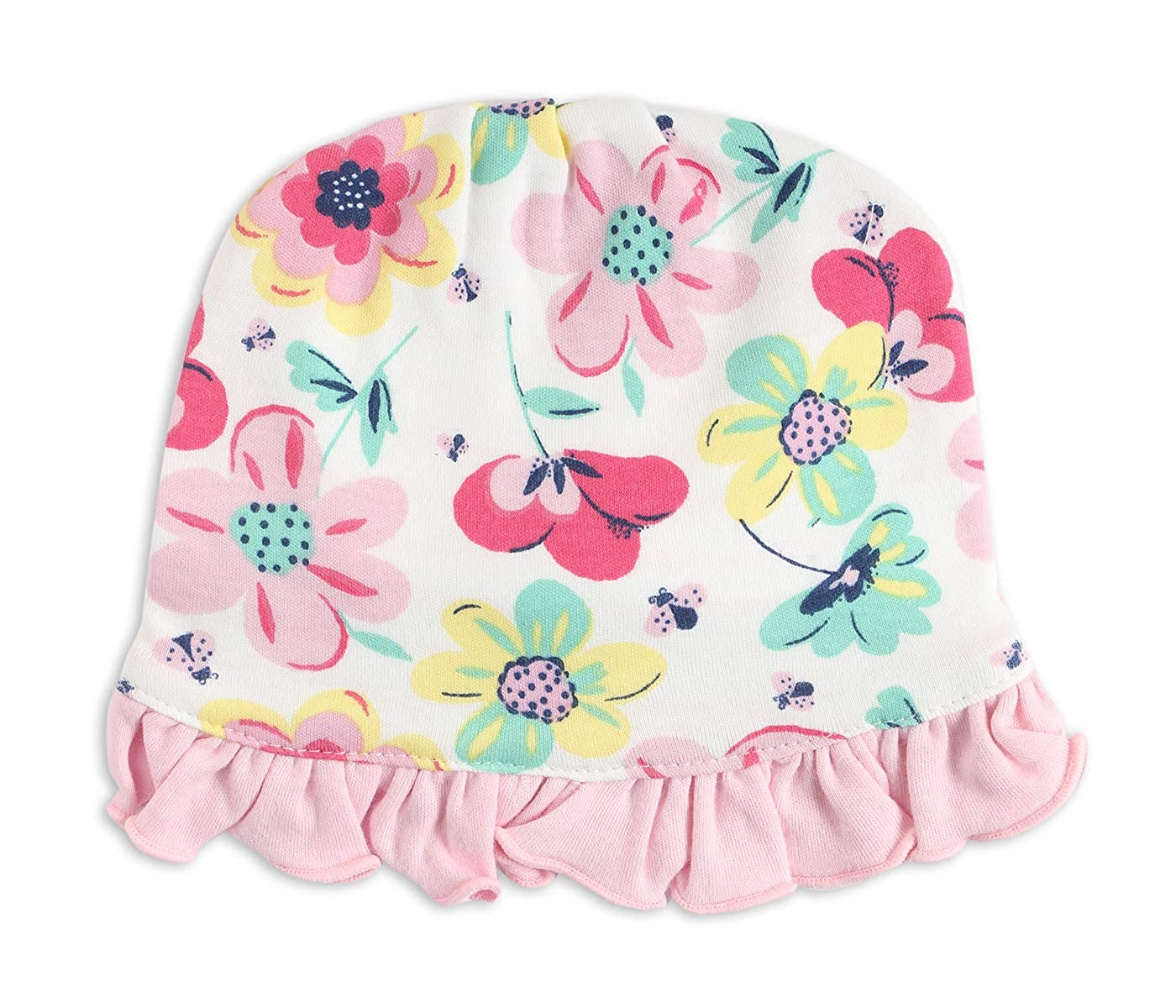 ad984e64724 BUMZEE 100% Cotton Cute Printed Reversible Round Cap for Toddler Infant New  Born Baby Girl Age 0-12 Months Multicolor (PEB2144)  Amazon.in  Clothing    ...