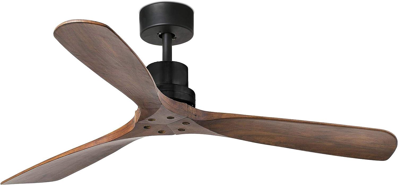 FARO BARCELONA 33516 - LANTAU Ventilador de Techo Negro Mate: Amazon.es: Hogar
