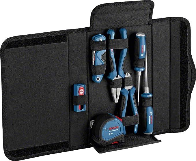 Bosch Professional- Set de herramientas de mano 16 pzs (destornilladores, alicates, cúter, cinta métrica, en estuche): Amazon.es: Bricolaje y herramientas