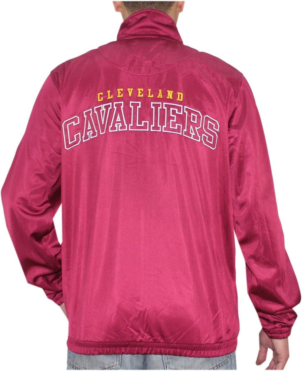 NBA – Cleveland Cavaliers Athletic con Cremallera Cálido Chaqueta ...