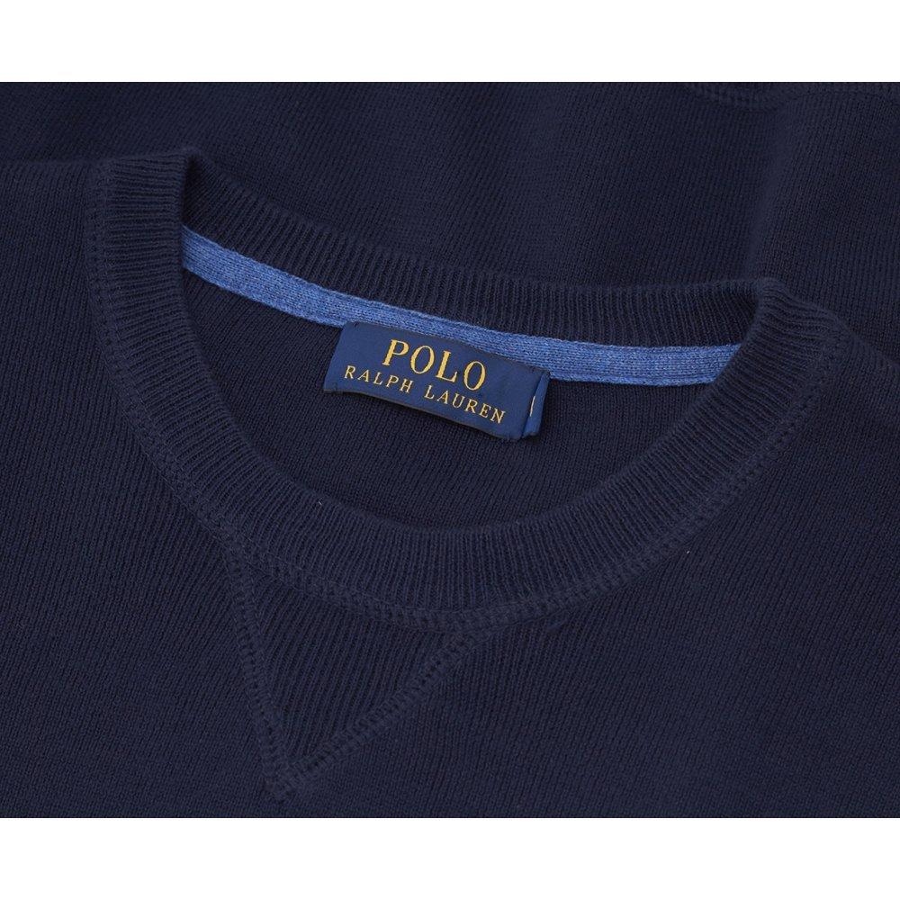 Ralph Lauren - Jerséi - para Hombre Azul Azul Marino: Amazon.es ...