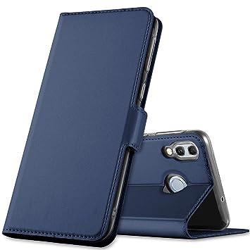 GEEMAI Diseño para Huawei P Smart 2019 Funda, Protectora PU Funda ...