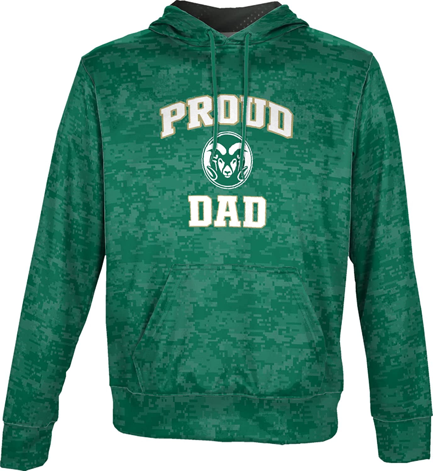 Digital ProSphere Colorado State University Fathers Day Mens Pullover Hoodie School Spirit Sweatshirt