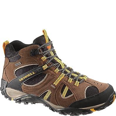 946cb7458 Merrell Mens Yokota Trail Mid Waterproof (8 D(M) US, Brown): Amazon ...