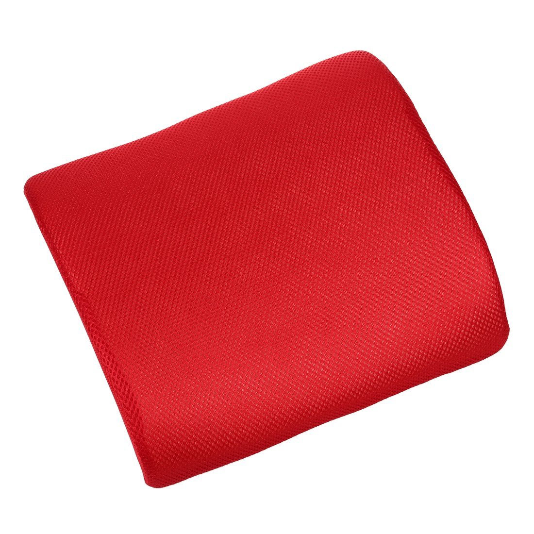 Memory Foam Seat Chair - SODIAL(R) Car Office Home Memory Foam Seat Chair Lumbar Back Support Cushion Pillow Red SODIAL (R) 059210A3