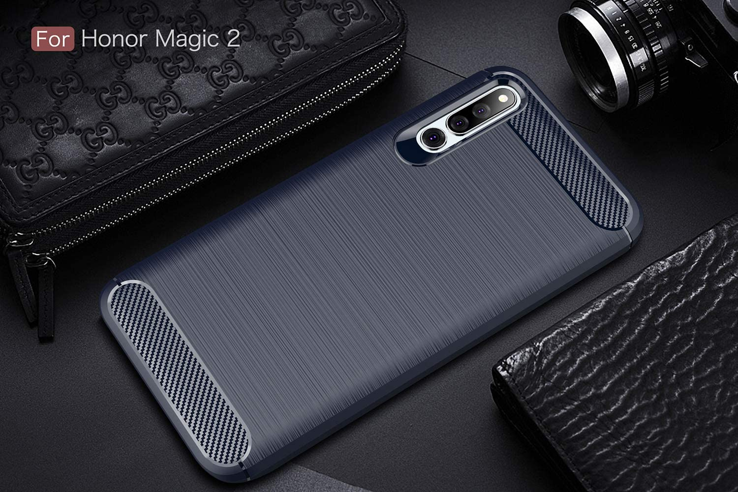 Tianqin Huawei Honor Magic 2 Funda, Ultra-Delgado Ultraligero ...