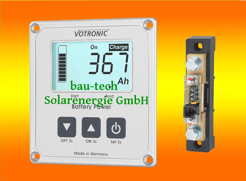 Votronic S200 Batterie Computer mit Mess Shunt fü r Batterieü berwachung von bau-tech Solarenergie GmbH VOBCOM200S