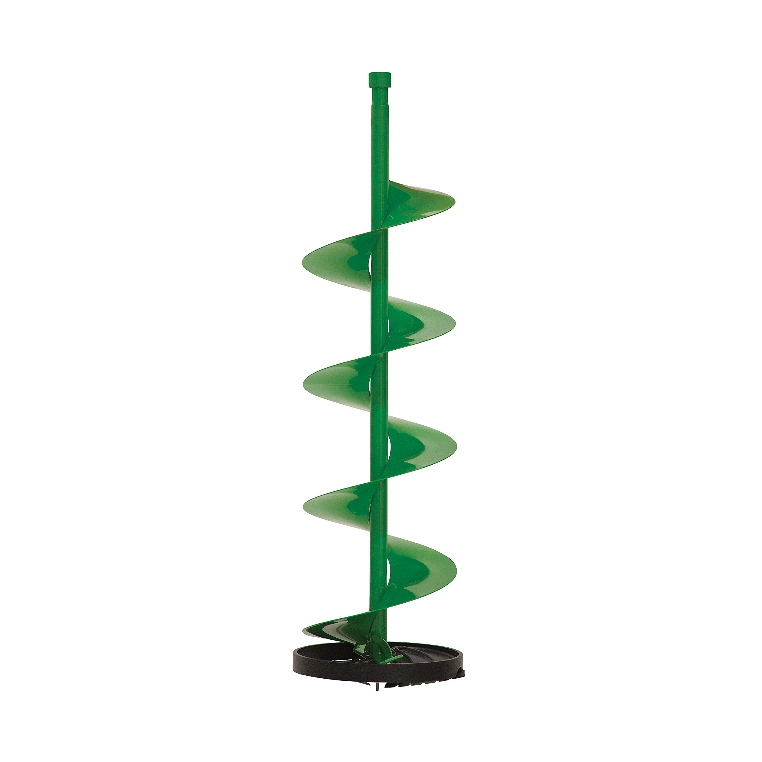 ION 29100 Straight Through 10-Inch Ice Auger Bit with Cast Aluminum Bottom, Green by Ion