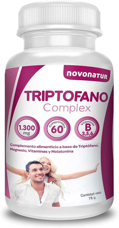 Triptofano con magnesio y vitamina b6, mas melatonina, espirulina ...