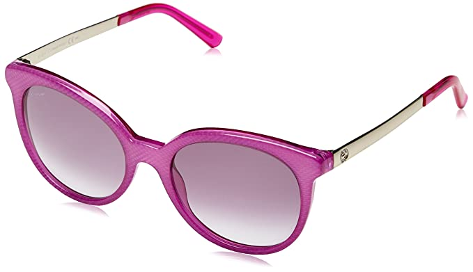 Gucci - Gafas de sol Ovaladas GG 3674/S para mujer: Amazon ...
