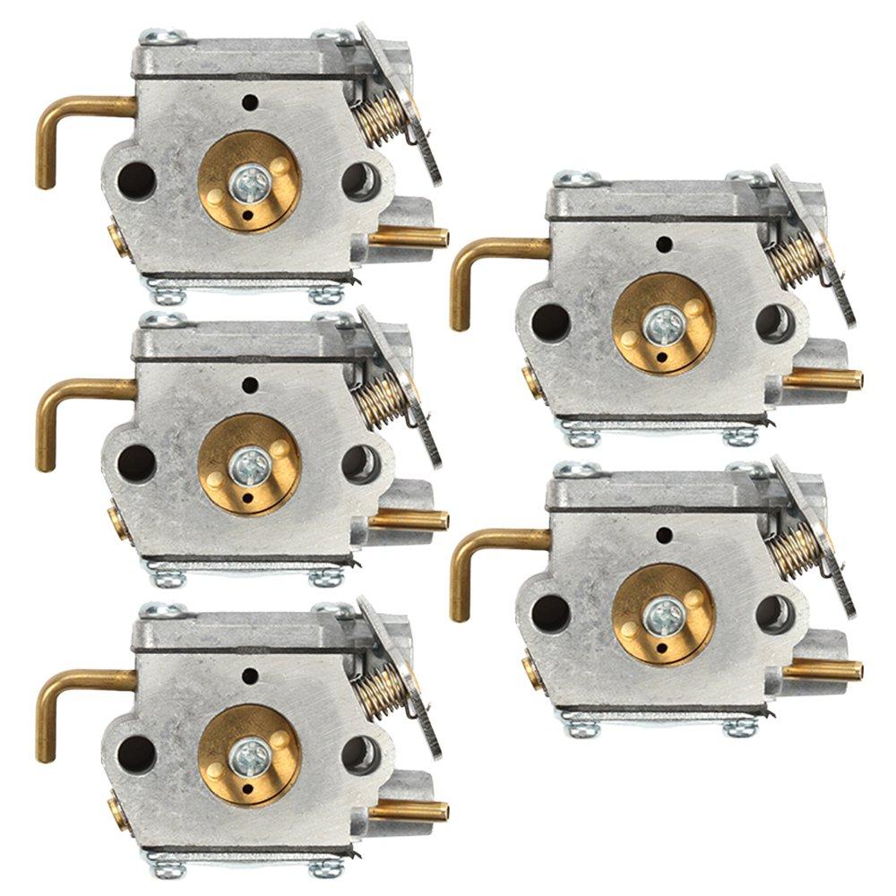 Savior 5pcs Carburetor for WT-827 WT-827-1 WT-149-1 WT340-1 WT-454 WT-526 WT-526-1 WT-539 WT-685 Carb Trimmer 753-05133 753-04333 791-182535